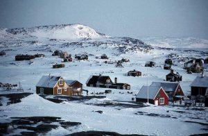 캐나다 북부지역 마을